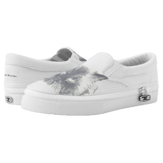 Cat Flat Top Sneakers Shoes