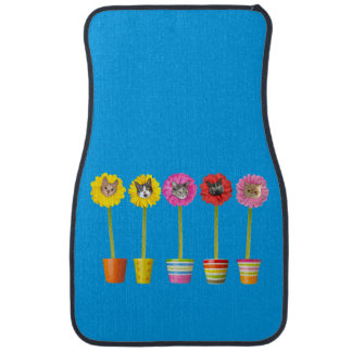"""Cat Flower"" Garden LOL Cat Mats (Front Set of 2)"