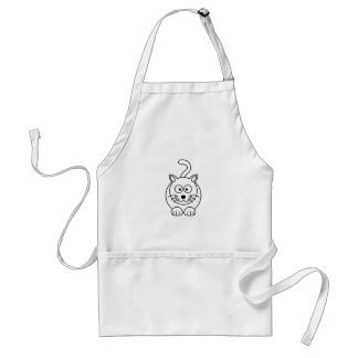 Cat fofo apron