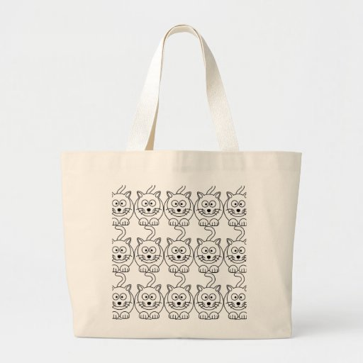Cat fofo canvas bag