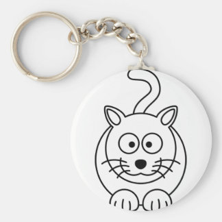Cat fofo key chains