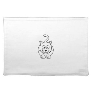 Cat fofo place mats