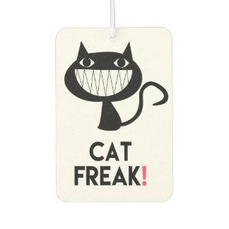 Cat Freak! Fun Car Air Freshener