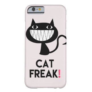 Cat Freak! Fun iPhone 6/6s Barely There Phone Case
