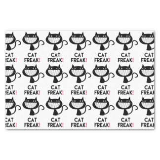 Cat Freak! Fun Tissue Paper