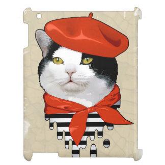 cat Frenchman iPad Covers