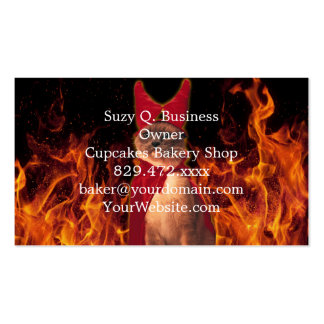 Cat From Hell Pack Of Standard Business Cards