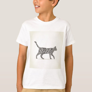 Cat from lips tshirt