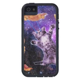 Cat Frying Bacon With Eye Laser Case For The iPhone 5