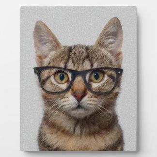 Cat geek plaque