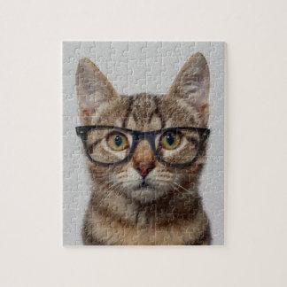 Cat geek puzzle