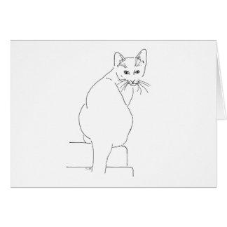 Cat Gift Shops.jpg Greeting Card