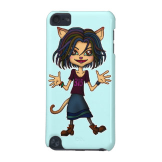 cat girl iPod touch (5th generation) cases