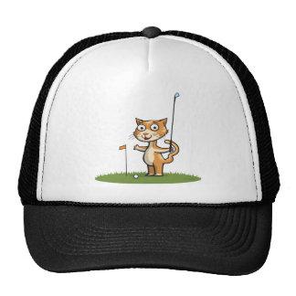 Cat Golf Cap