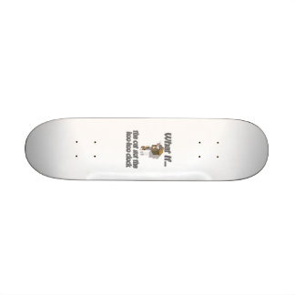 Cat got the KooKoo Skate Board Deck