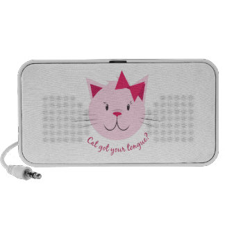 Cat Got Your Tongue? Notebook Speakers