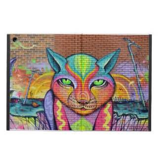 Cat Graffiti Art Design Cover For iPad Air