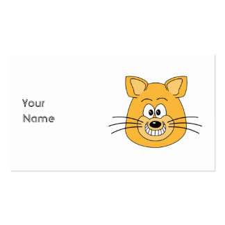 Cat Grin Business Cards