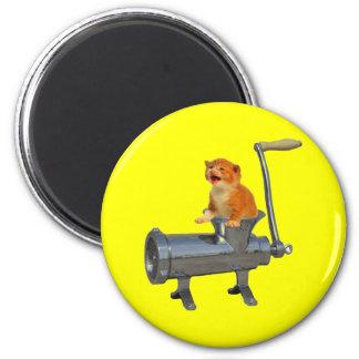 Cat Grinder 6 Cm Round Magnet