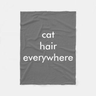 Cat Hair Everywhere blanket