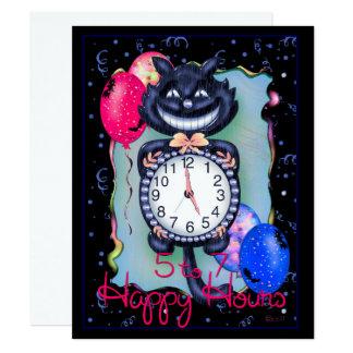 "CAT HALLOWEEN 4.25"" x 5.5"" Card"