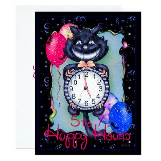 "CAT HALLOWEEN 6.5"" x 8.75"" Card"