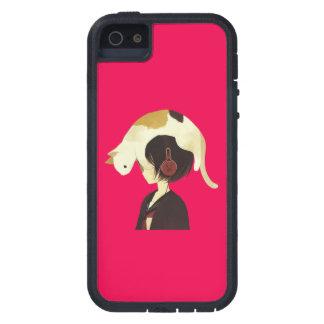CAT HAT - Anime Child with Cat iPhone 5 Cases