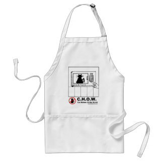Cat Haters Microwave Cartoon Apron