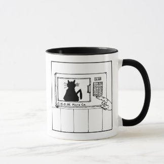 Cat Haters Microwave Cartoon Mug
