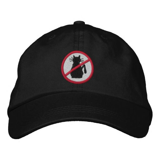 Cat Haters of the World Embroidered Hat
