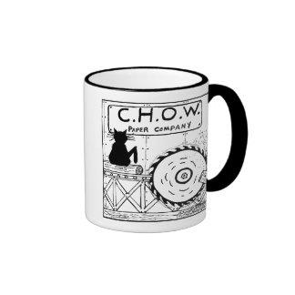 Cat Haters Sawmill Cartoon Mug