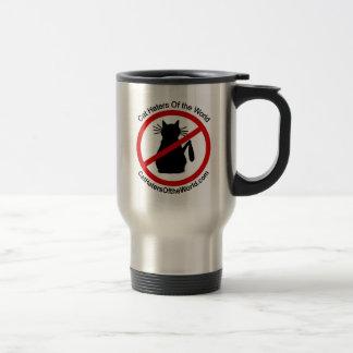 Cat Haters Travel Mug