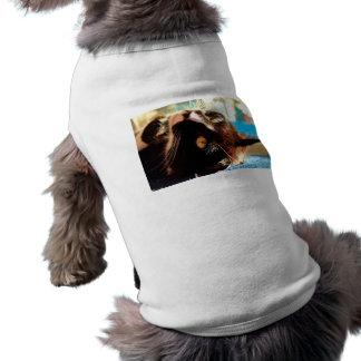 cat head in sunlight neat animal feline image pet tshirt