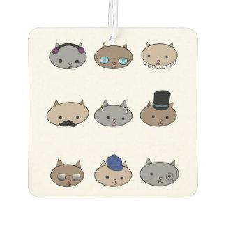 Cat Heads Car Air Freshener