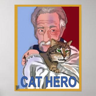 'Cat Hero' Poster