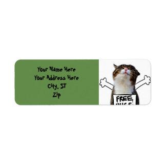 Cat hug - free hugs - cat memes