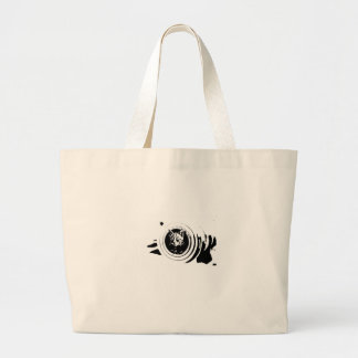 Cat hunter '' Cannon kitten'' Tote Bag