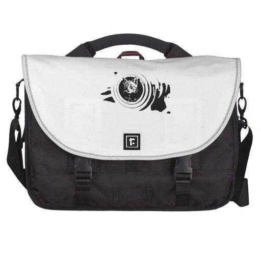 Cat hunter '' Cannon kitten'' Bags For Laptop