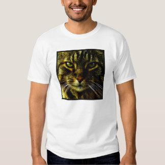 Cat Hypnotizing Look Photo Shirts