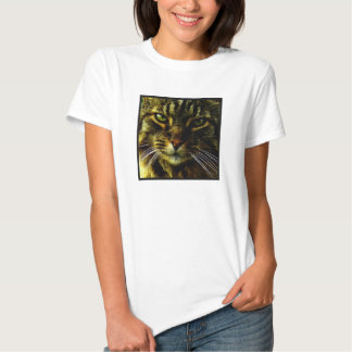 Cat Hypnotizing Look Photo T Shirt