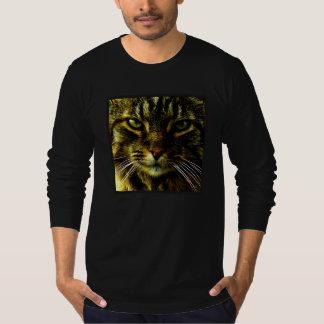 Cat Hypnotizing Look Photo T-Shirt