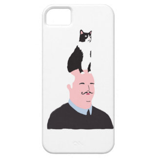 Cat Illustration Barely There iPhone 5 Case