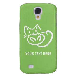 Cat Illustration custom color HTC cases