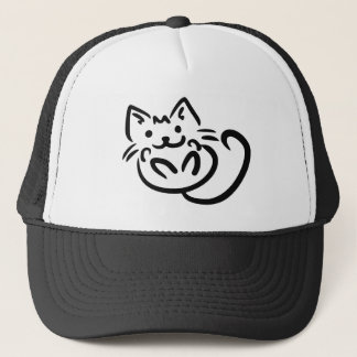 Cat Illustration custom hats