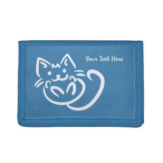 Cat Illustration custom wallets