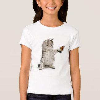 Cat image for girl's-t-shirt T-Shirt