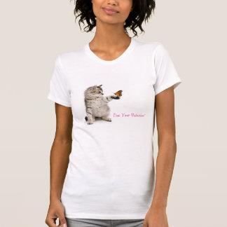 Cat image for women's-t-shirt