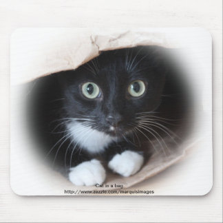 Cat in a bag mouse mat