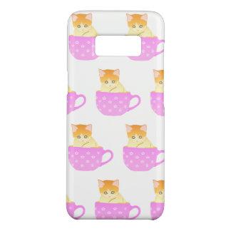 cat in a cup Case-Mate samsung galaxy s8 case