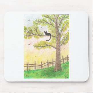 Cat in a Tree Mousepad